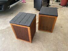 New listing Rare Vintage 1960s Realistic Optimus 4 Omni-Directional Speakers