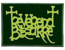 REVEREND BIZARRE - GREEN Logo - Embroidered Patch * Gestickter Aufnäher