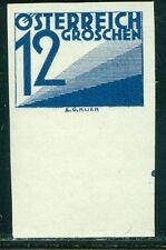 Österreich 1925 Portomarke Nr. 140 UR ungezähnt ** geprüft BPP