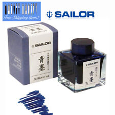 Sailor Fountain Pen [青墨 Seiboku] Ink Square Bottle Pigment Ink 13-2002-242