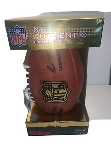 """Official NFL """"The Duke"""" Football  Authentic  Brand New Signed By Drew Bledsoe"""