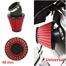 "1x48mm Auto Truck Motorcycle Racing 3"" Inch Cold Air Intake Filter Kit Universal"