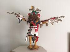 Vintage Hopi Eagle Kachina Katsina Doll By Ron Duwyenie- Large Scale