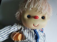 Ice Cream Doll Boy with Cone Large Sized 23 Inches Vintage