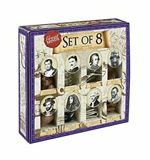 Great Minds Set of 8: Puzzle Compendium 4 Wooden and 4 Metal Puzzles