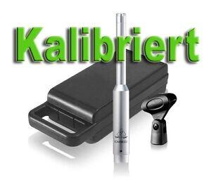 Kalibriert : Behringer ECM8000 Messmikrofon Kondensator