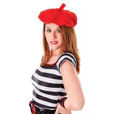 Plain Beret Hat Wool Autumn Women Girls Hats French Beret Fancy Dress