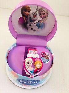 Disney Elsa & Anna Frozen Digital Watch With Swivel Top
