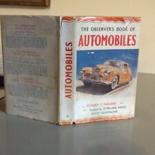 Observers Book Of Automobiles 1955 1st Edition 2nd Issue Very Rare