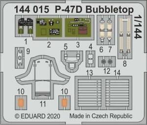 Eduard 144015 1/144 P47D Bubbletop for Eduard & Platz model  (Painted)