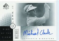 MICHAEL CLARK II 2001 Upper Deck SP Authentic Sign of the Times Auto #MC2