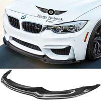 BMW F80 F82 F83 M3 M4 Vorsteiner Style Carbon Fiber Front Lip 2014-Up