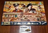 WWII Diorama Set Rommel El Alamein the railway Station  1:72 Italeri 6181 Neu