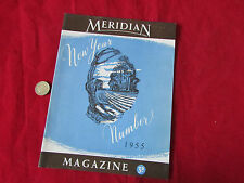 Meridian  Magazine House Journal  NOTTINGHAM  New Year 1955  Great Local History