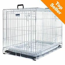 Dog Cage House Car Crate With Cushion Safe During Transport Safe At Home Small