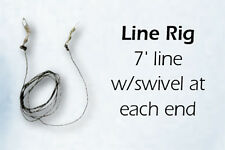Jackite LineRig (7' Nylon Line w/swivels on each end)