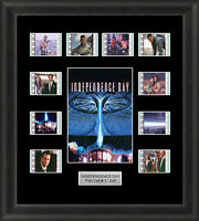 Independence Day Framed 35mm Film Cell Memorabilia Filmcells Movie Cell Presenta