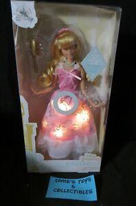 "ShopDisney Authentic 12.5"" Princess Cinderella Light Up Dress With Sound Doll"