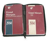 1994 Mercury Grand Marquis Factory Original Owners Manual Portfolio #17