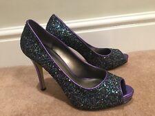Womens Glitter Stilettos
