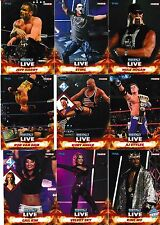 2013 Tristar TNA Impact Live 100 Card Set AJ Styles Hulk Hogan Jeff Hardy Sting