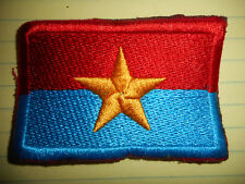 NLF FLAG PATCH - National Liberation Front - VIET CONG - Vietnam War - VC - L