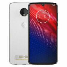 Motorola Moto Z4 - 128GB - Frost White (Verizon & Unlocked ) good