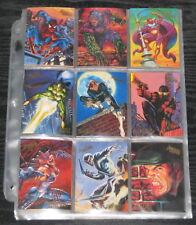 1995 Fleer Ultra Spider-Man BASE Set of 150 Cards NM/M, Mavel RARE!