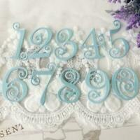 Circle Lace Numbers Metal Cutting Dies Stencil Scrapbooking Embossing Card R9E1