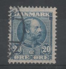Y216 Denemarken 49 gestempeld
