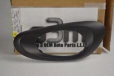 2002-2009 Chevrolet Trailblazer LH Rear Door Interior Black HANDLE BEZEL new OEM