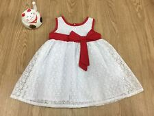 Baby Girl Korea White Riboon Dress (Size:L)