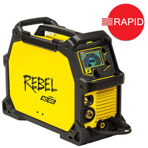 ESAB Rebel EMP 205ic AC/DC MIG/TIG/ARC Welder Package 110/230v 3yr Warranty