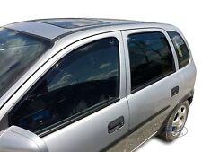 DOP25367 Vauxhall Corsa B 1993-2000 wind deflectors 4pc set HEKO TINTED HEKO