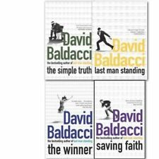 Winner simple truth By David Baldacci Collection 4 Books Collection Set NEW