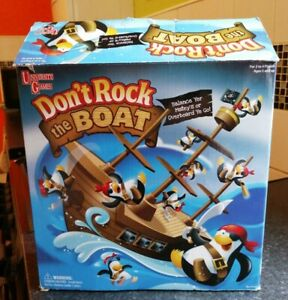 DON'T ROCK THE BOAT KIDS GAME COMPLETE LOVELY CONDITION UNIVERSITY GAMES