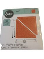 """Sizzix Bigz Half-Square Triangles 4 1/2"""" Finished Square Quilting Fabric Die"""
