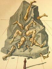 Salvador Dali, Divine Comedy - Dante Alighieri, Hand Signed Lithograph