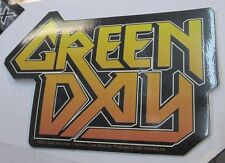 GREEN DAY STICKER COLLECTIBLE RARE VINTAGE 2001 METAL LIVE WINDOW DECAL
