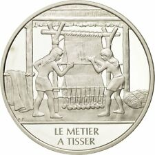 [#490021] France, Medal, Le métier à tisser, Sciences & Technologies