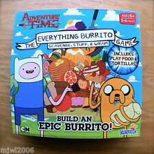 ADVENTURE TIME The EVERYTHING BURRITO Game BUILD AN EPIC Cartoon Network wrap 6+