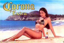 Corona Extra Beer Babe Refrigerator / Tool Box Magnet