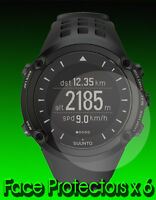Suunto Ambit Watch Protectors  x 6  Protect your Watch glass from Scratches