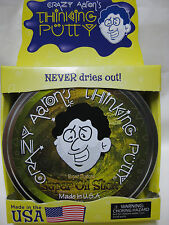 SUPER OIL SLICK Super illusions Crazy Aaron's Thinking Putty Large 4 inch 3.2 oz