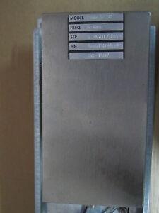 VECTRON QUARTZ CRYSTAL OSCILLATOR 5 MHz FREQUENCY CALIBRATOR STANDARD LOW AGING