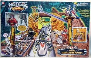 Power Rangers Wild Force Deluxe Temple Ruins Playset W/Sound Princess Shayla Red