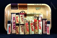 Authentic Raw Paper 2xcollections M-tray Papers Tips Rolling Machine Lighter