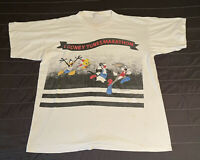 Vintage Looney Tunes 1994 Marathon Short Sleeve T Shirt (Made in USA) One Size