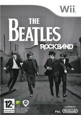Nintendo Wii The Beatles Rock Band Video Game - John Lennon Paul McCartney UK