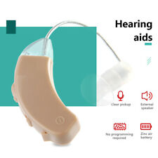 Mini BTE Noise Reduction Ear Aid Sound Amplifier For Elderly Hearing Loss Device